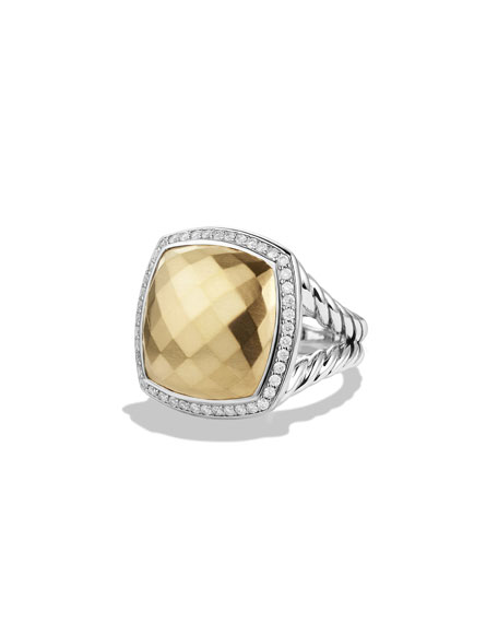 David Yurman Albion Ring with Gold and Diamonds
