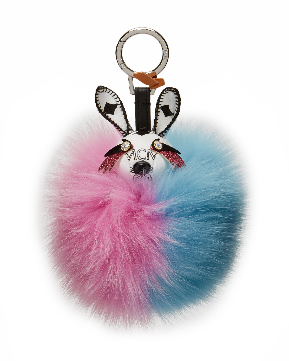MCM Rabbit Fur Punk Charm for Handbag   Neiman Marcus 7d4addf6e7