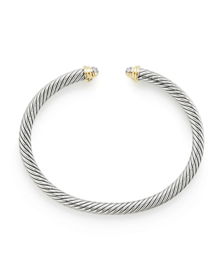 Kid's Birthstone Cable Bangle