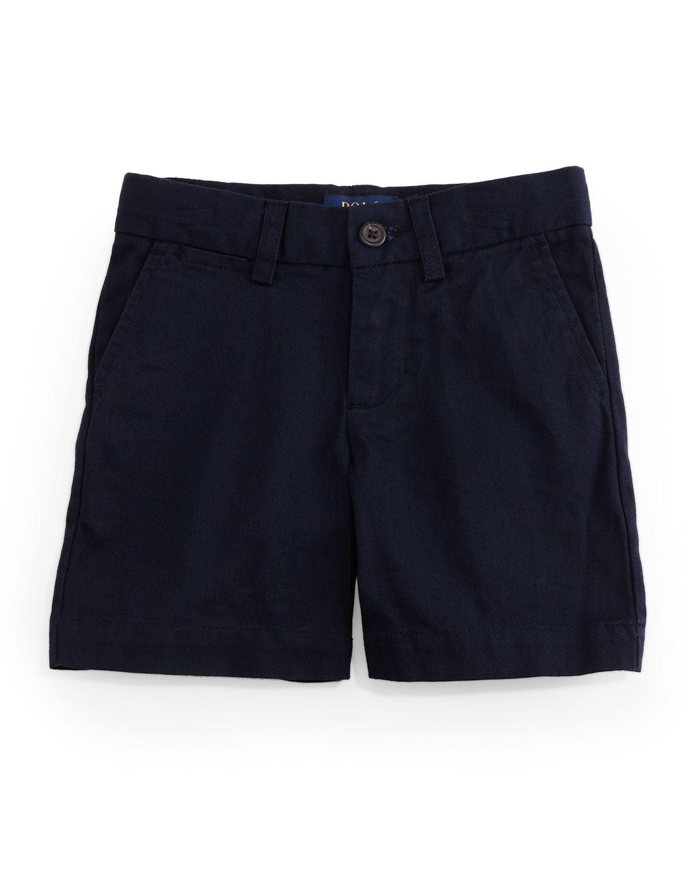 793ac370f Ralph Lauren Cotton Flat-Front Prospect Shorts