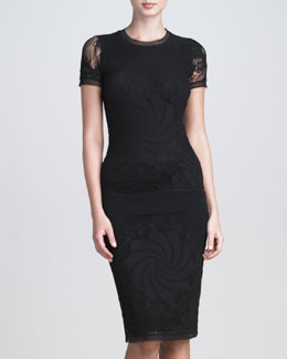 Jean Paul Gaultier Lace Skirt, Black