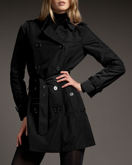 Burberry Brit Buckingham Coat