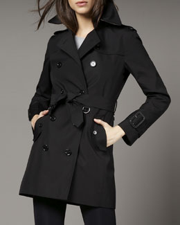 Burberry Brit Marystow Coat, Black