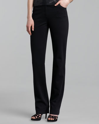 Marie Five-Pocket Ponte Pants