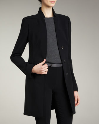 Long Button Jacket