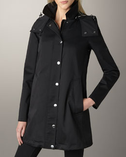 Burberry Brit Bowpark Rain Jacket