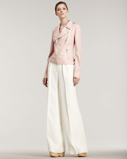 Ralph Lauren Collection Carison Wide-Leg Pants
