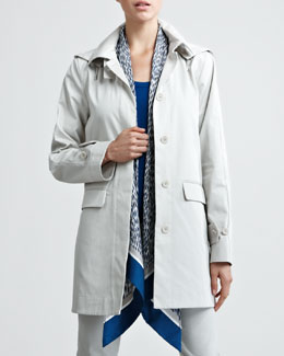 Loro Piana Golbin Hooded Raincoat
