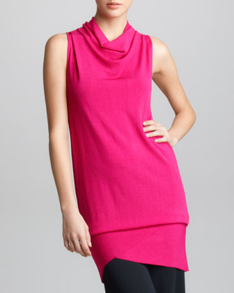 Asymmetric Convertible Tunic