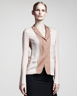 Reed Krakoff Colorblock Layered Jacket