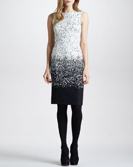 Burberry Prorsum Degrade Sheath Dress