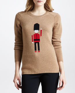 Burberry Prorsum Soldier Cashmere Sweater