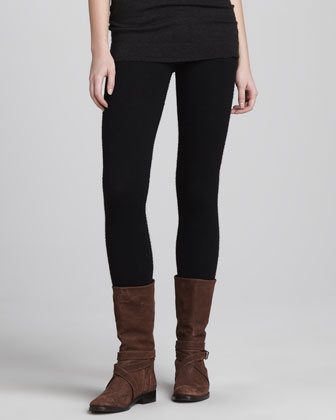 Cashmere Leggings, Black