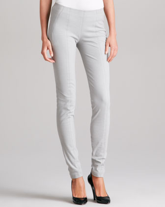 Seamed Leggings, Cement