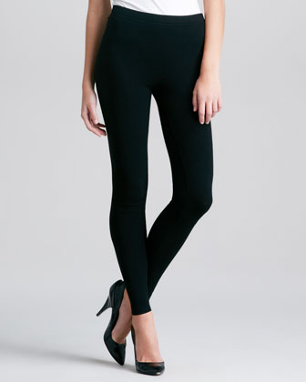 Pull-On Leggings, Black