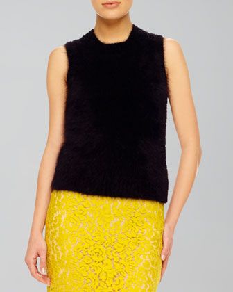 Fuzzy Knit Shell