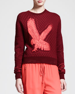 Stella McCartney Quilted Kestrel Sweatshirt