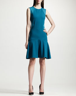 Stella McCartney Paneled Dropped Waist Dress