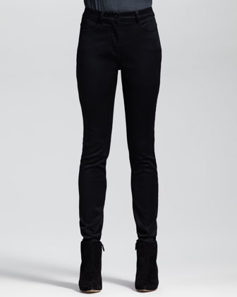 High-Waisted Stretch Jeans