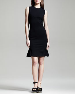 Stella McCartney Sleeveless Yoked Flounce Dress