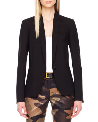 Stretch-Wool Blazer