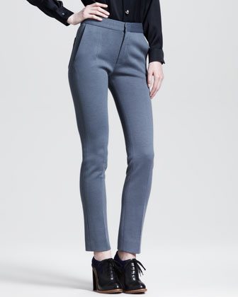 Back-Patch Skinny Pants