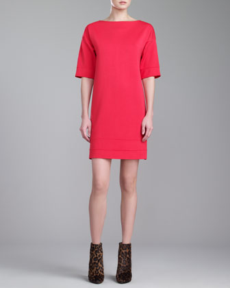Milano Knit Tunic Dress, Grenadine