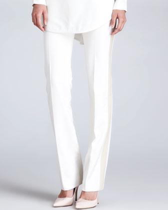 Tuxedo Pants, Cream