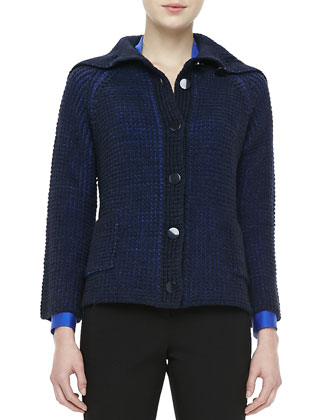 Nubby Knit Cardigan Jacket