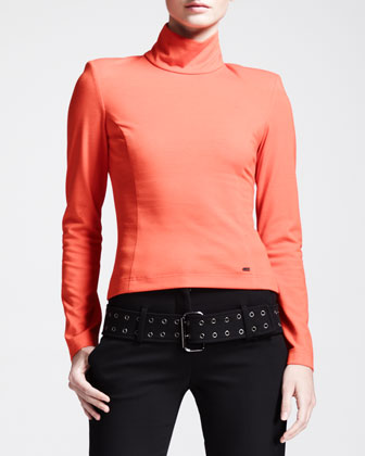 Holland Mock-Collar Top