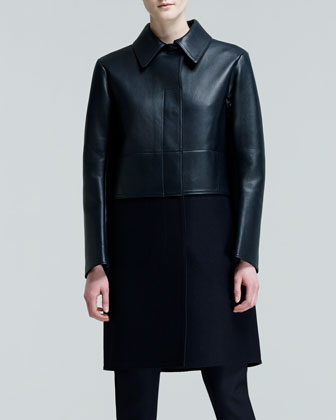 Proust Paneled Combo Coat