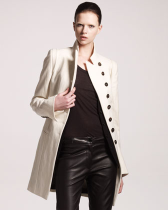 High-Collar Coat