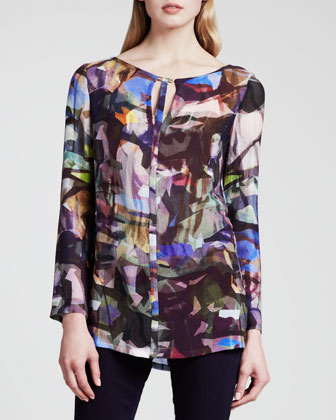 Stained-Glass-Print Tunic