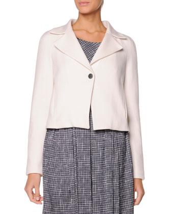 Single-Button Short Jacket