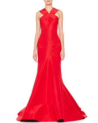 Silk Halter Gown, Grenadine