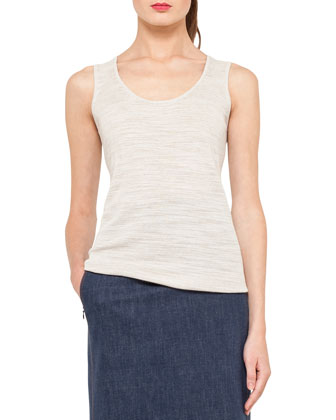 Scoop-Neck Knit Top