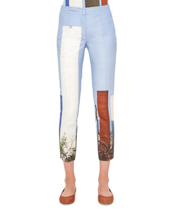 Satellite Tower Cropped Pants