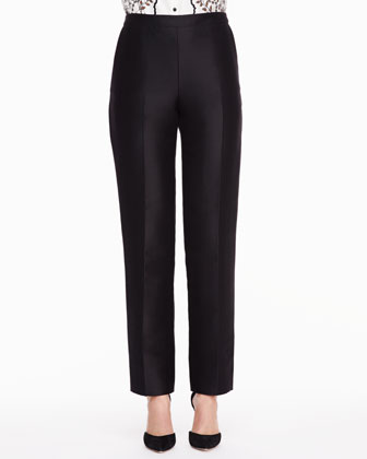 Skinny Trouser Pants, Black