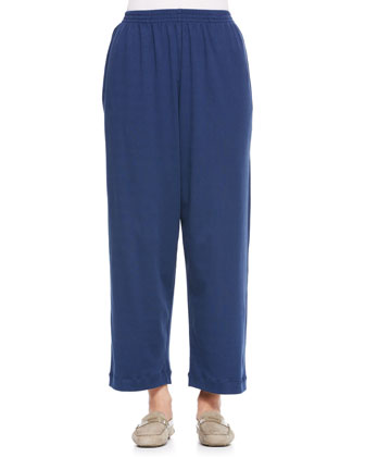 Cotton Japanese Trousers, Denim