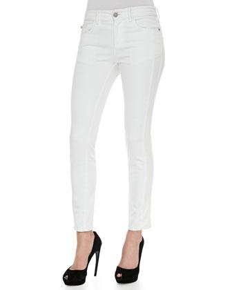 Tonal-Side Skinny Jeans