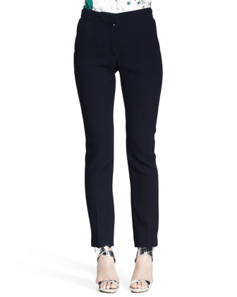 Slim Flannel Pantalon Pants