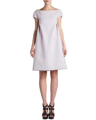 Report Cap-Sleeve Dress