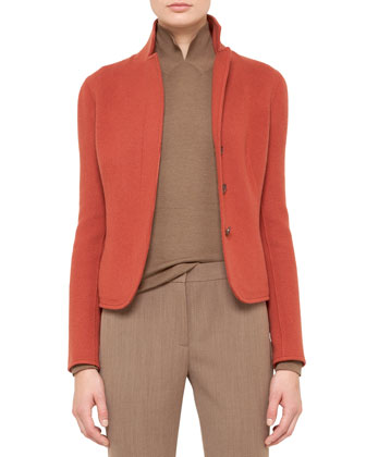 Cashmere Jacket, Canary