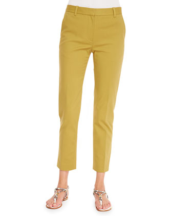 Classic Pencil Pants, Avocado