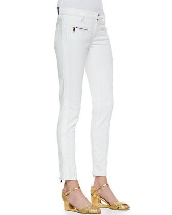 400 Zip Matchstick Jeans
