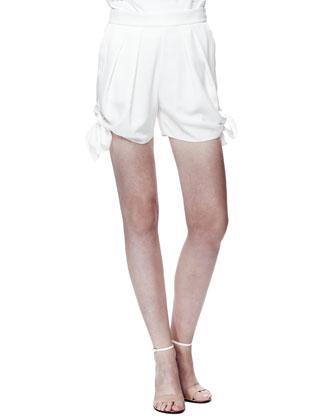 Light Cady Tie Shorts
