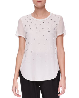 Meteorite Beaded T-Shirt