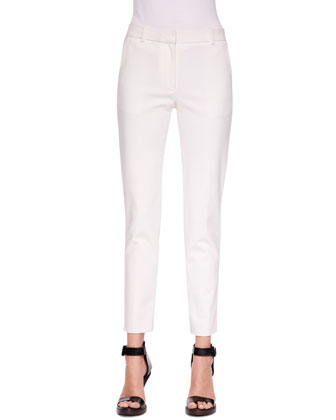 Classic Ankle Pencil Pants