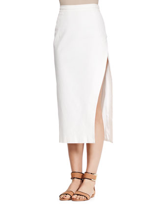 Kiku Midi Pencil Skirt