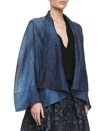 Caftan Jacket, Old Indigo